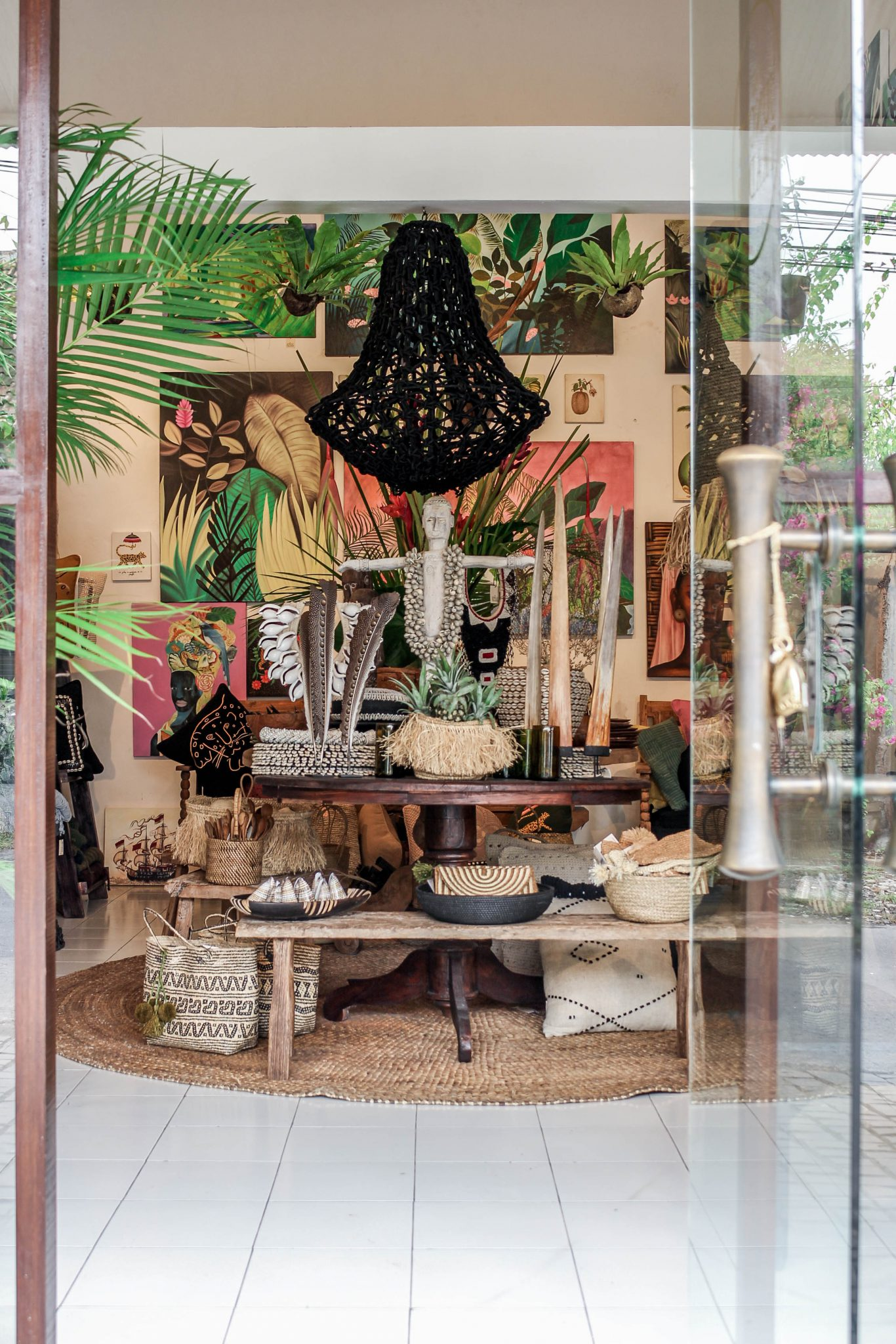 Bali Interiors- The Jungle trader