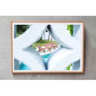 Bali Interiors Products Print Panama Peekaboo