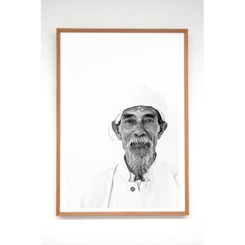 Bali Interiors Products Print Portrait Kakek with frame-1