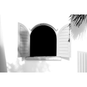 Shadows and Window b/w