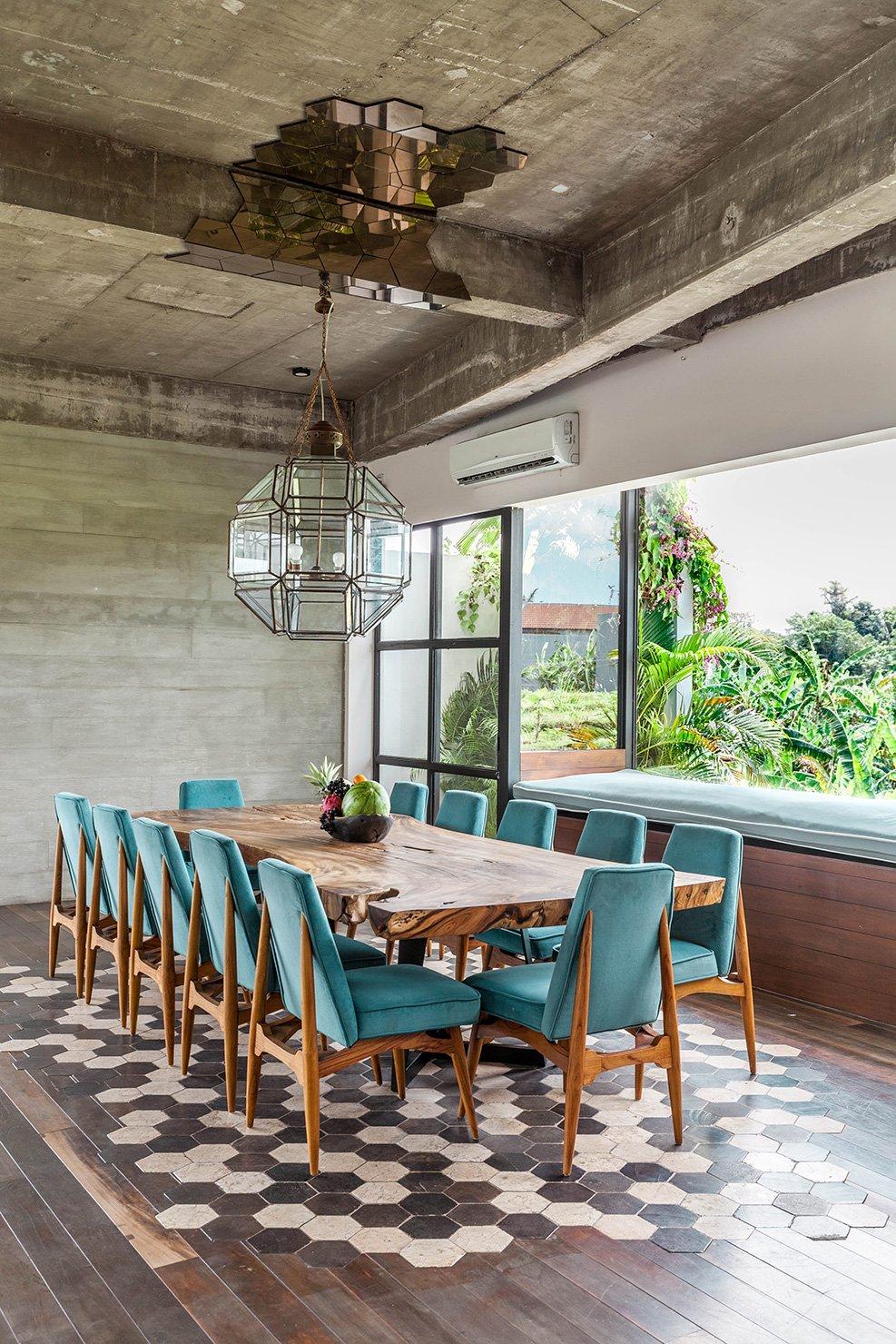 Mandala House dining - Bali Interiors