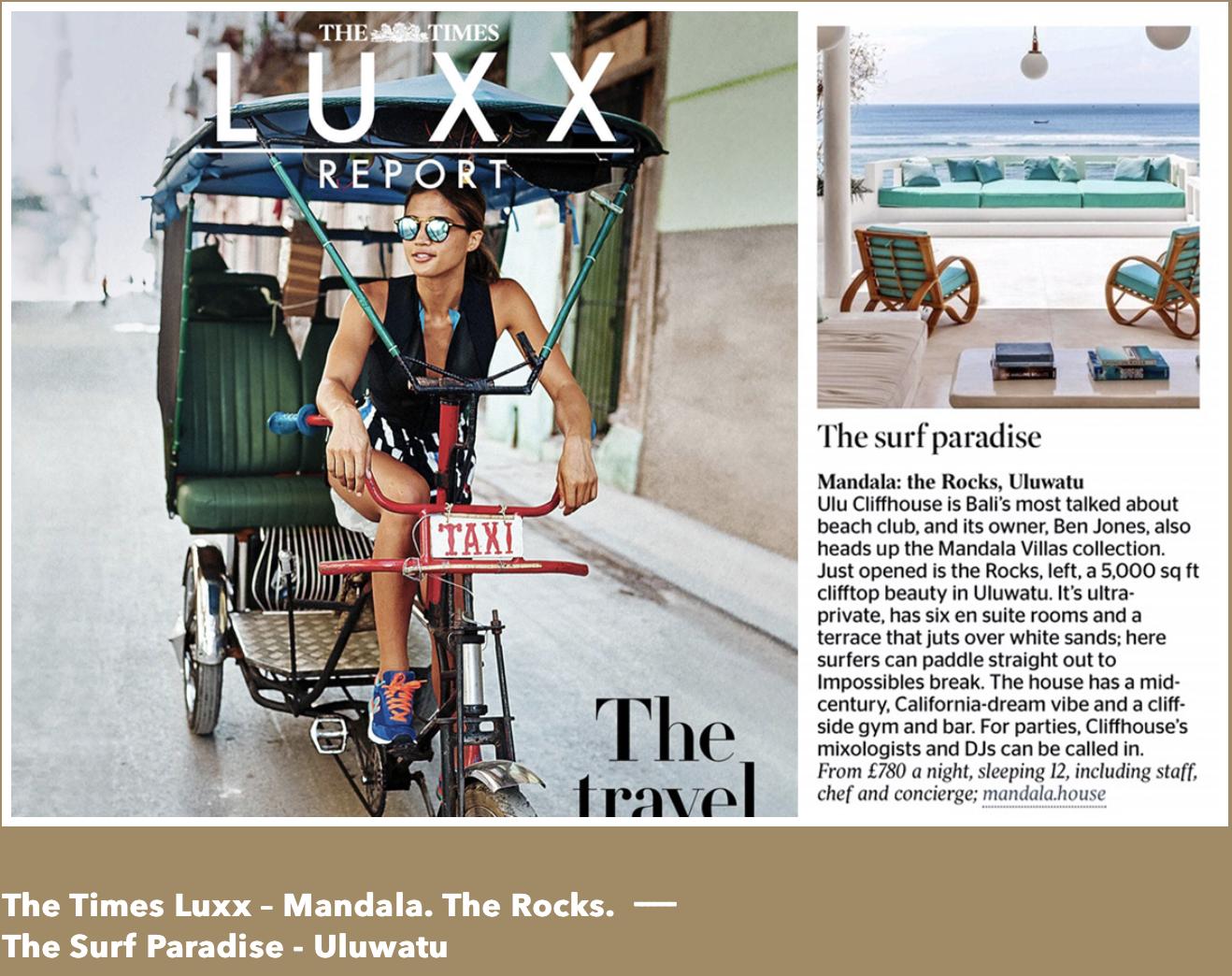 The Times - Bali Interiors