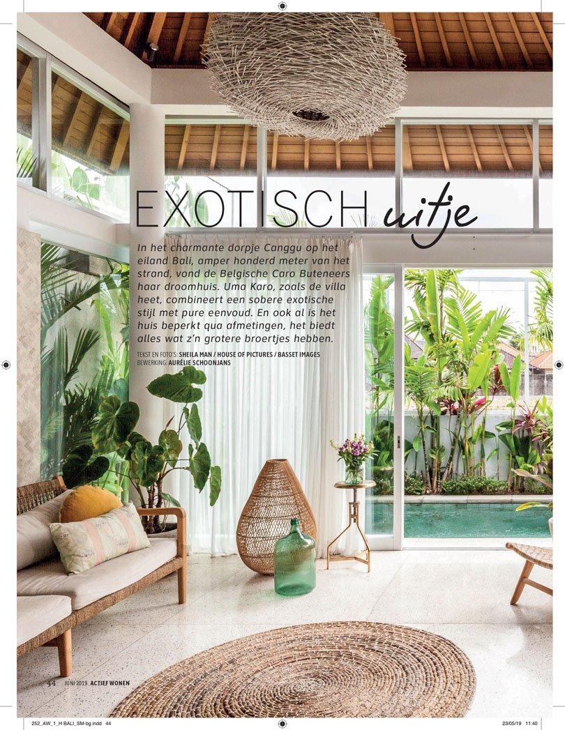Bali interiors press