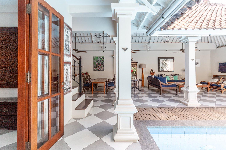 Villa Seni- Bali Interiors- colonial architecture