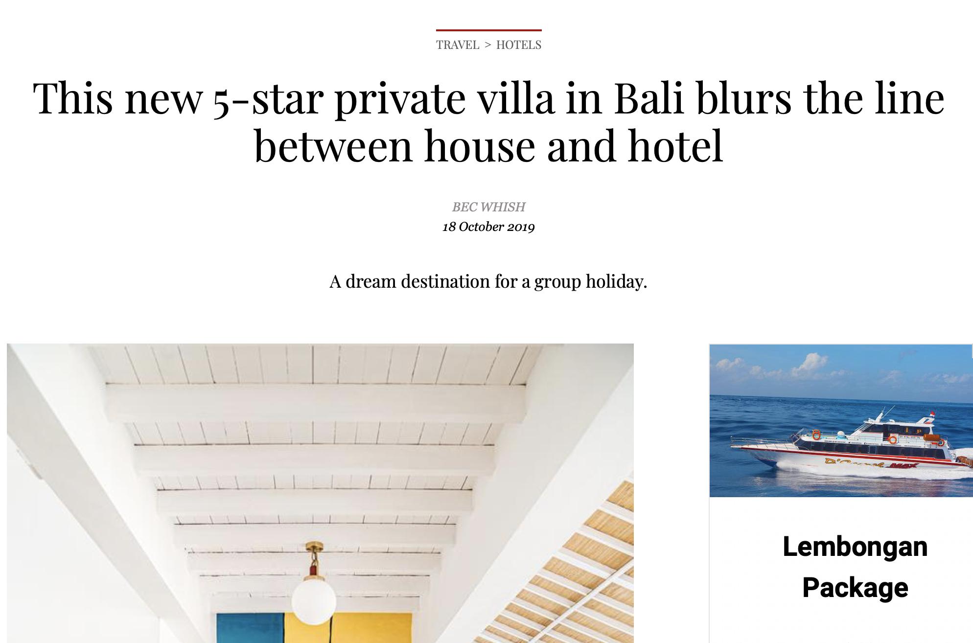 Bali Interiors- Vogue Living