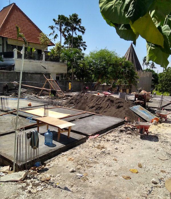 Bali Interiors Build Diary 14 Our villa footprint