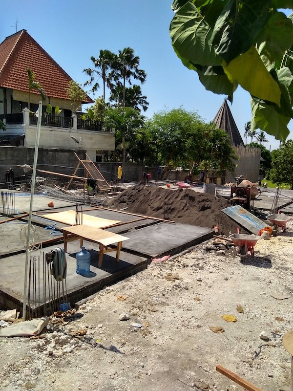 Bali Interiors Build Diary 14 Our villa footprint