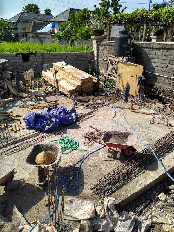 Bali Interiors Build Diary 15 post dengue build update