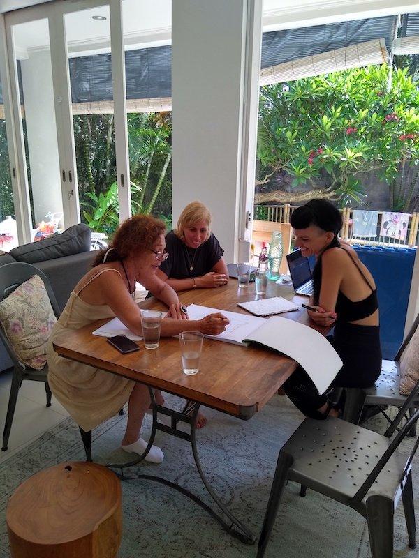 Bali Interiors Build Diary 15 post dengue lighting