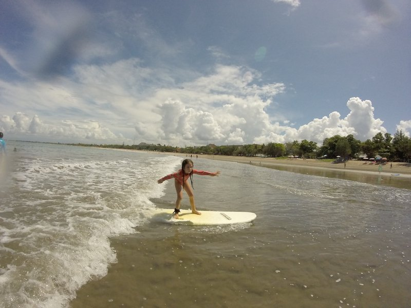 Bali Interiors Build diary 15 surfing kids