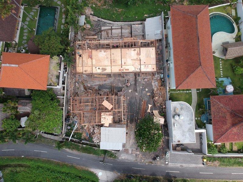 Bali Interiors Build Diary 17 drone