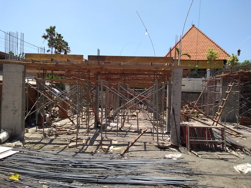 Bali Interiors Build Diary 17 building update