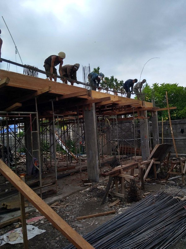 Bali Interiors build Diary 17 our workers