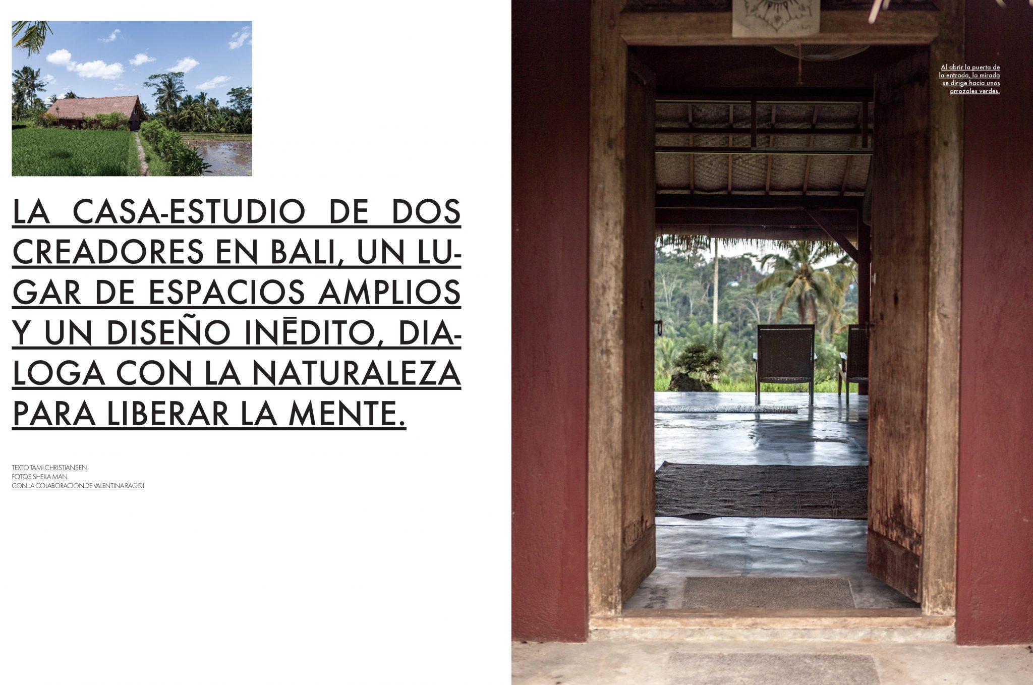 Elle Decor Mexico- Bali Interiors