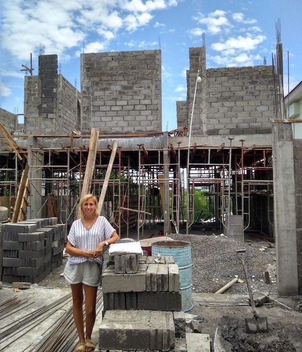 Bali Interiors Build Diary 19 on site
