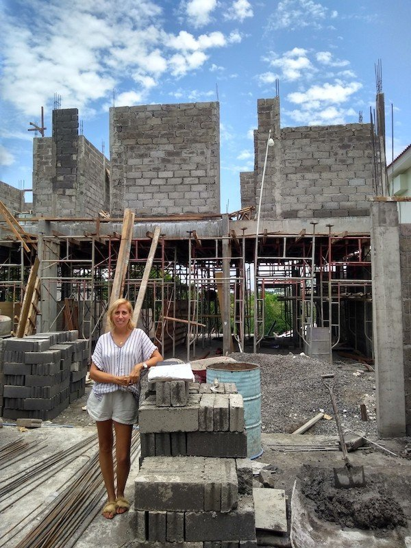 Bali Interiors Build Diary 19 on site