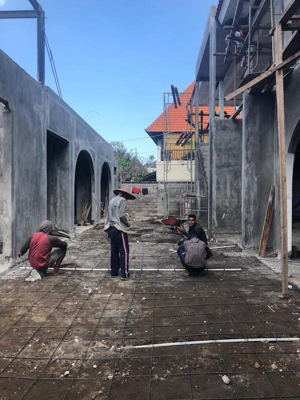 Bali Interiors build diary 24