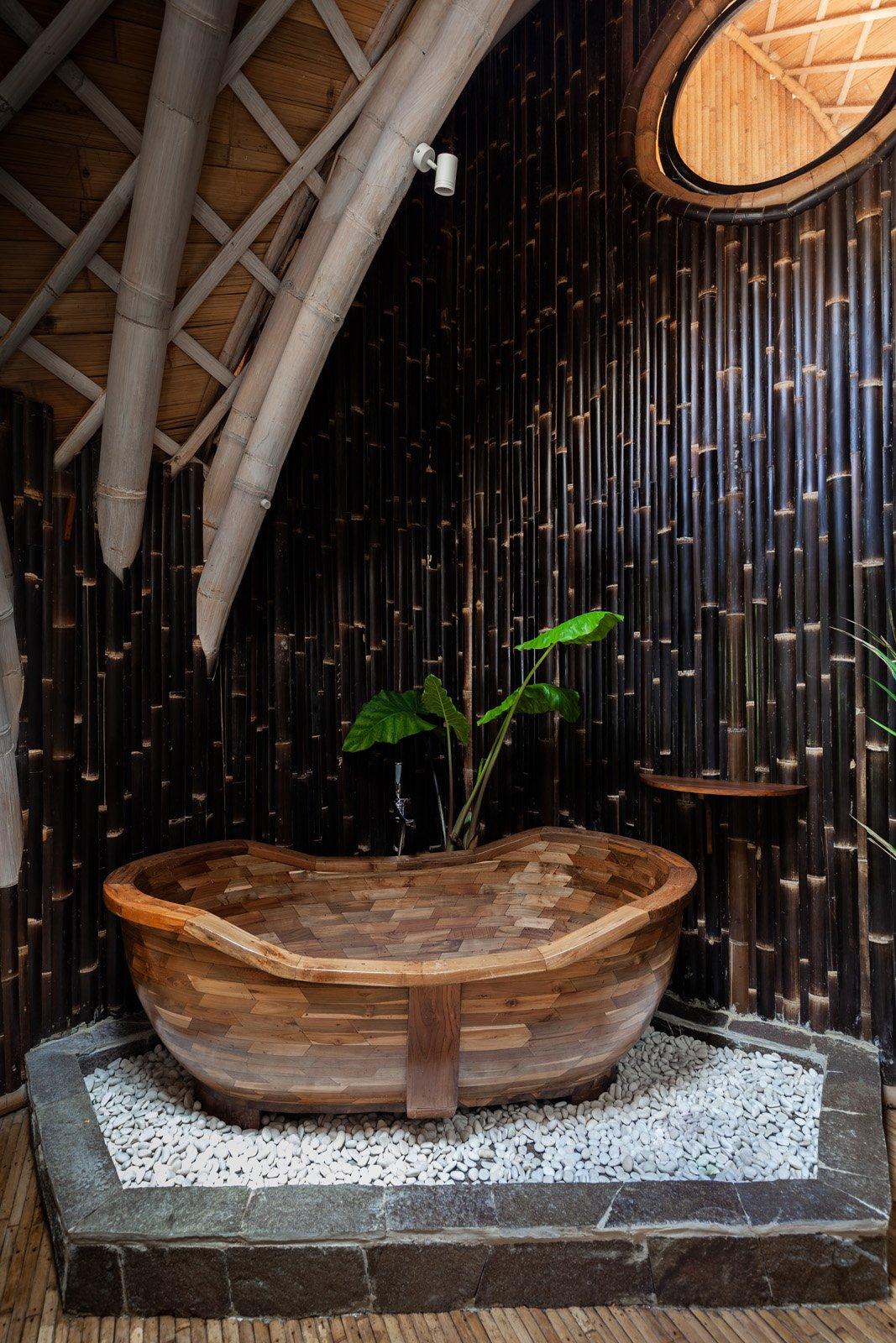 Ulaman Eco Resort, Bali Interiors- bamboo architecture