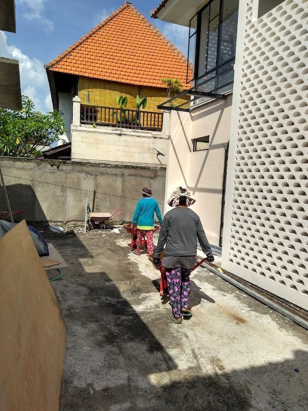 Bali Interiors build diary 31 raising the level