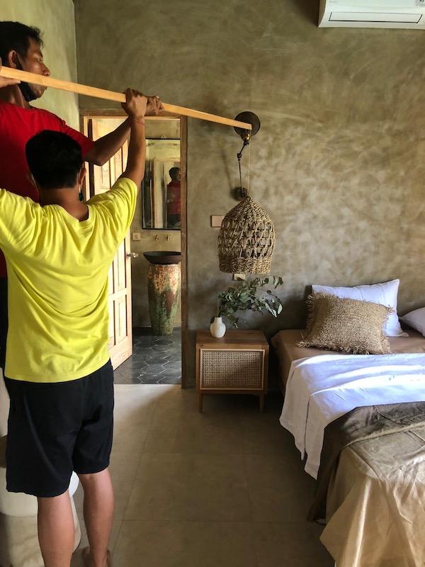 Bali Interiors Build Diary 33 behind the scenes