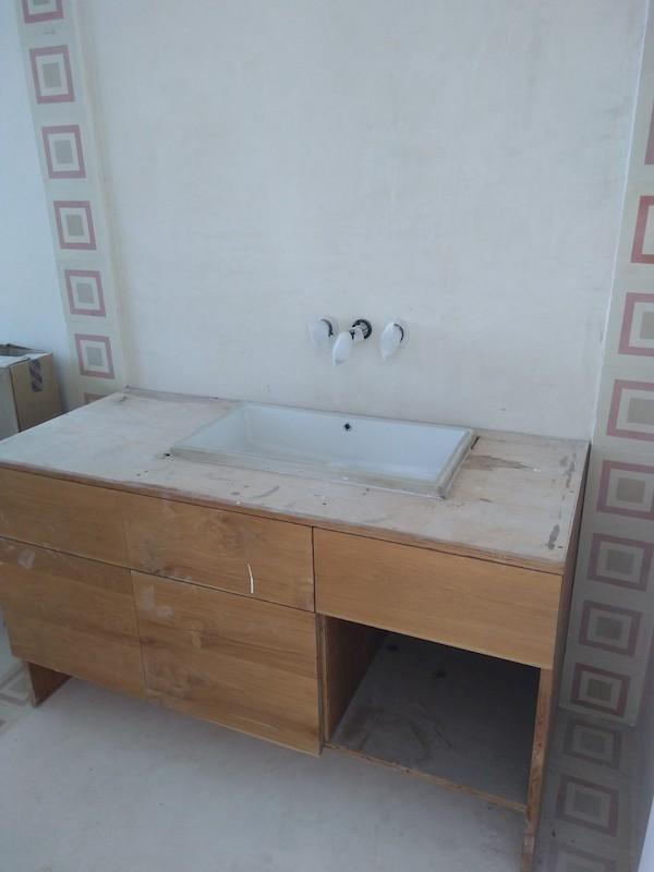 Bali Interiors Build Diary 33 resin