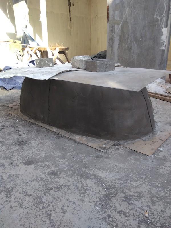 Bali Interiors Build Diary 32 bathtub