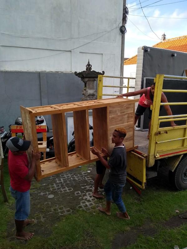 Bali Interiors Build Diary 34 moving day