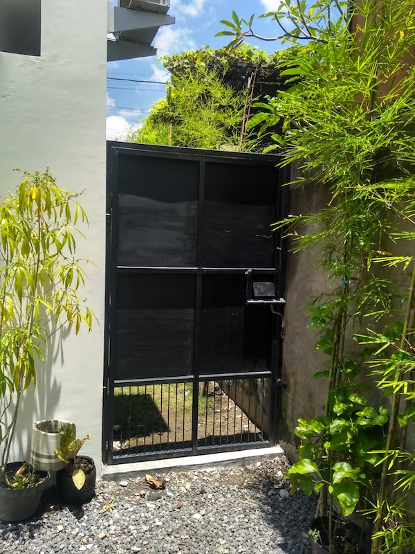 Bali Interiors Build Diary 38 Lucky's gate