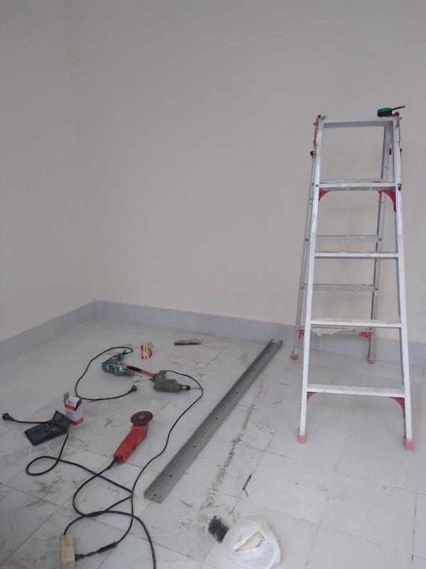 Bali Interiors Build Diary 38 fixing Umi's room
