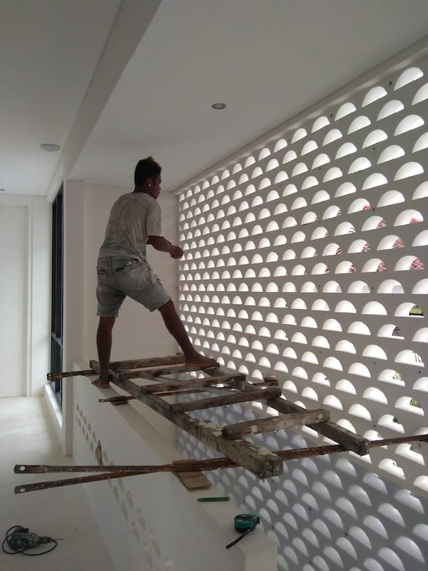 Bali Interiors Build Diary 39 mosquito net
