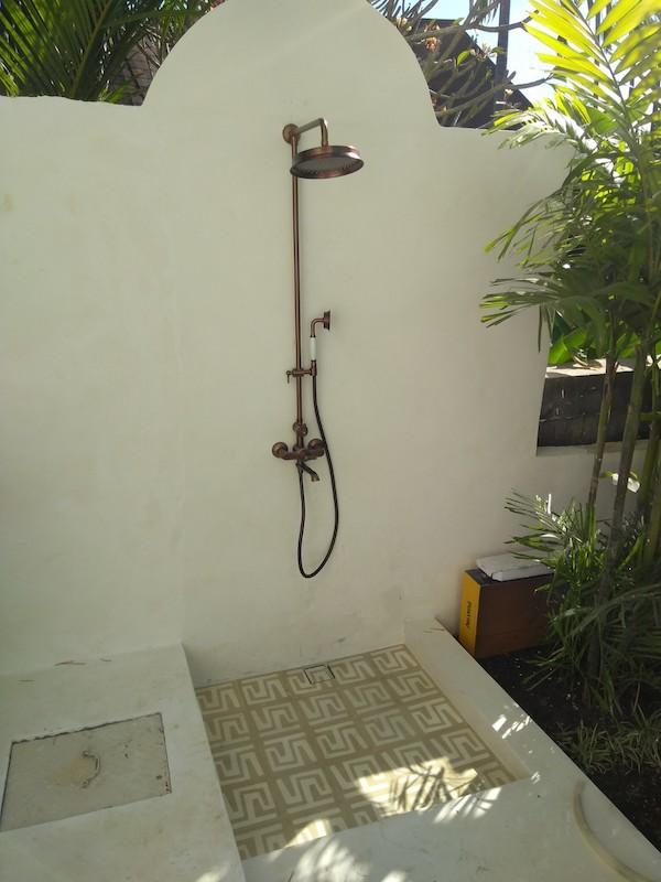 Bali Interiors Build Diary 41 outdoor shower