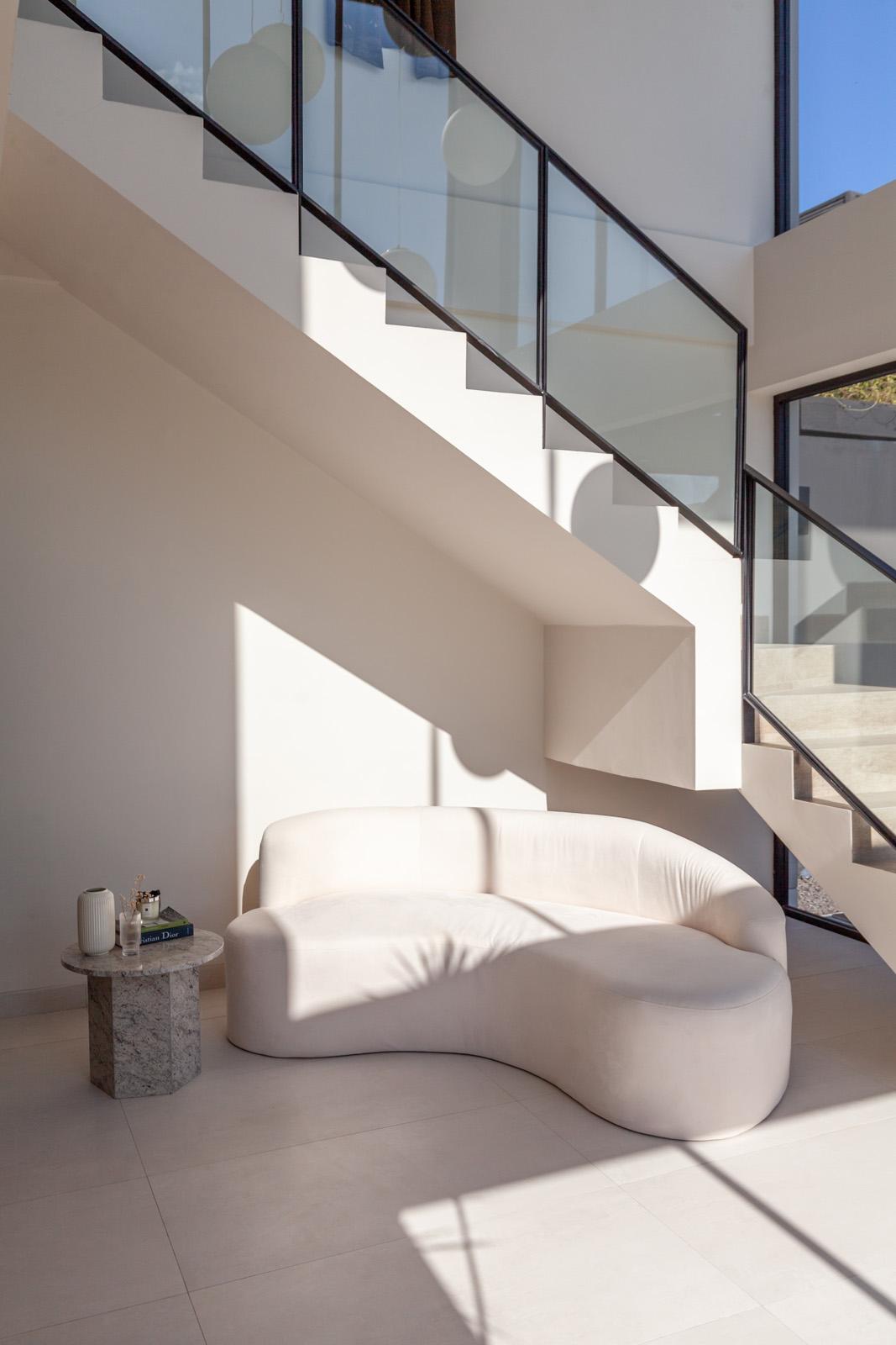 Bali Interiors. white home, decor, foyer, living room