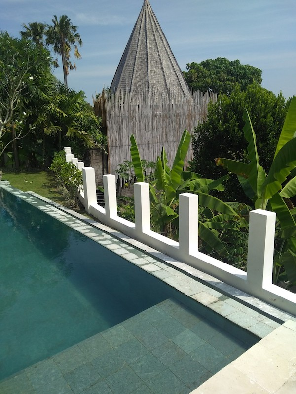 Bali Interiors Build Diary 42 the back wall
