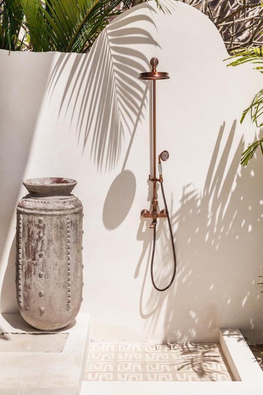Bali Interiors Build Diary 42 outdoor shower