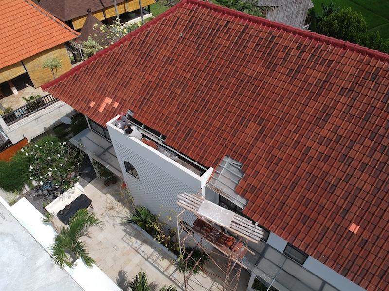 Bali Interiors Build Diary 45 drone