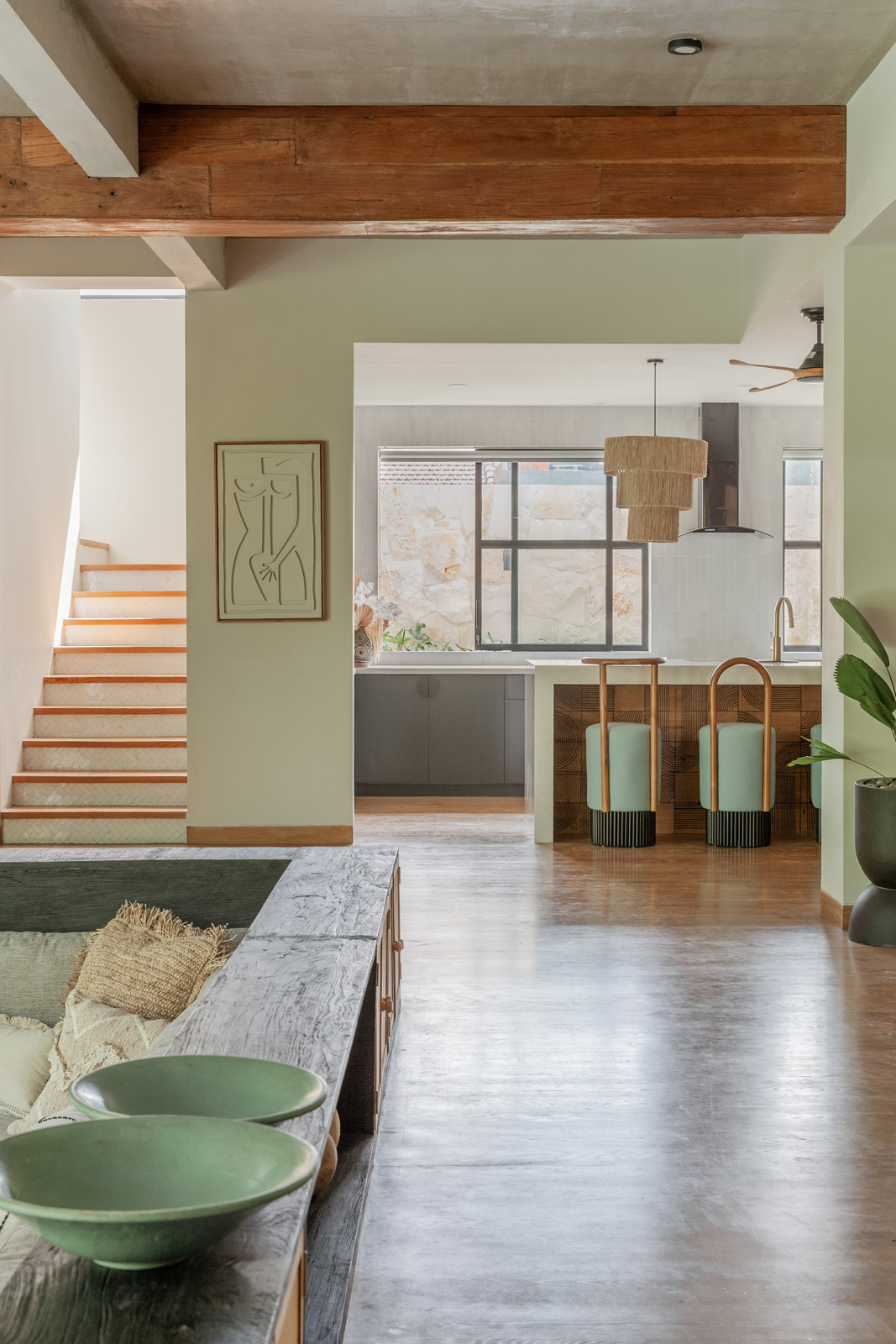 Azula House, Bali Interiors, Canggu, Villa, living room,