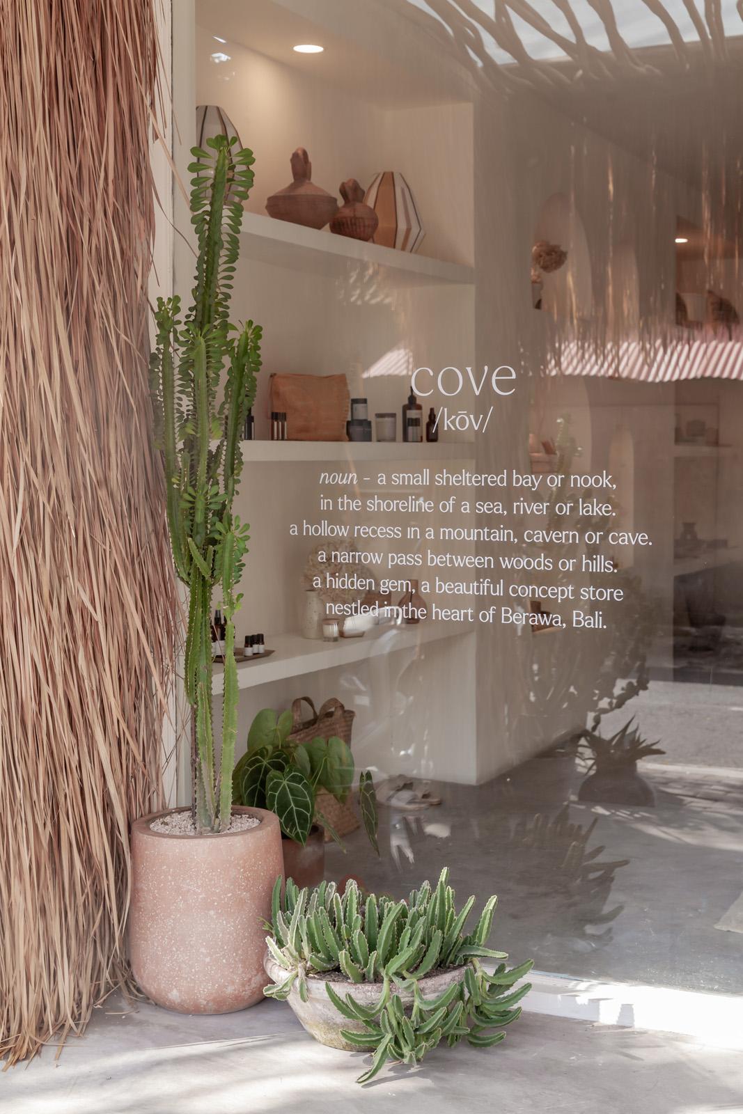 Cove, Bali, Store, Interiors, shopping, Canggu