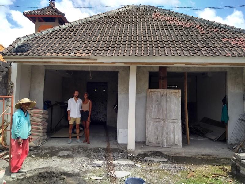 Bali Interiors Build Diary Hasina and Marco